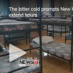 The bitter cold prompts New Haven shelters to extend hours