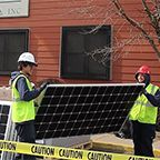 Columbus House Goes Solar